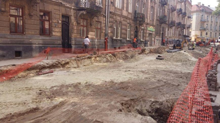 Як у Львові триває ремонт  вулиці Нечуя-Левицького (ФОТО), фото-4