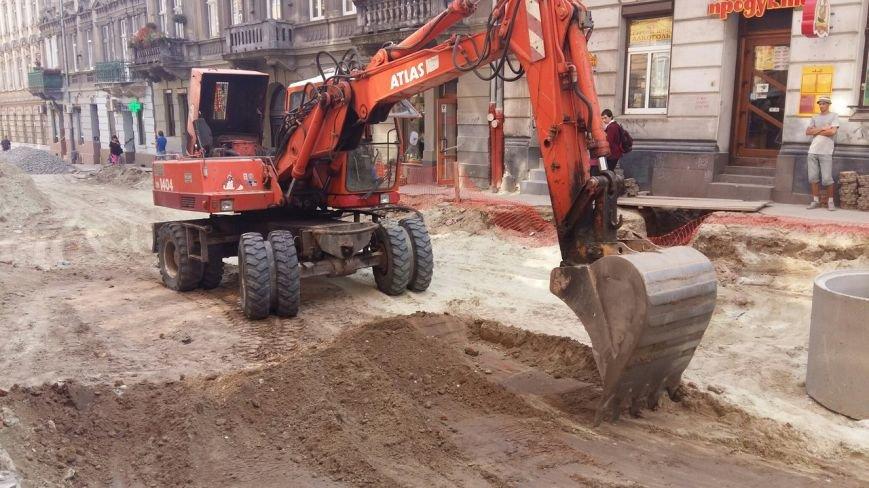 Як у Львові триває ремонт  вулиці Нечуя-Левицького (ФОТО), фото-9