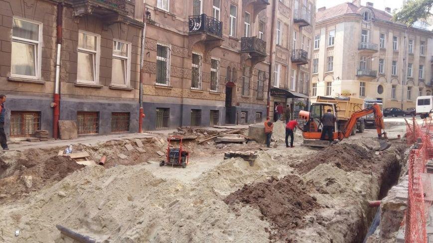 Як у Львові триває ремонт  вулиці Нечуя-Левицького (ФОТО), фото-10