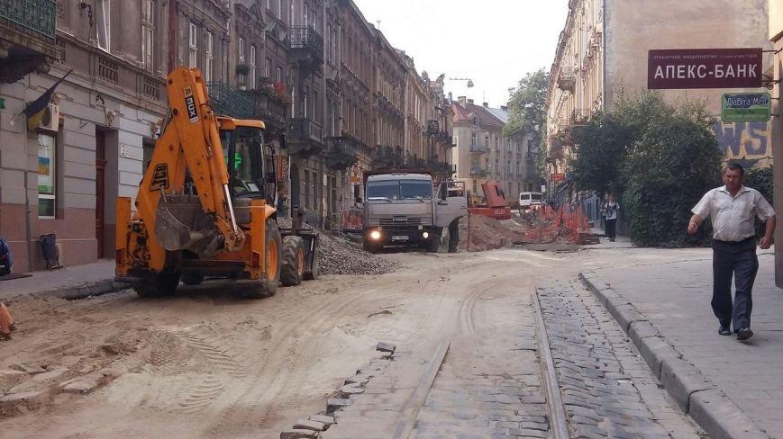 Як у Львові триває ремонт  вулиці Нечуя-Левицького (ФОТО), фото-1