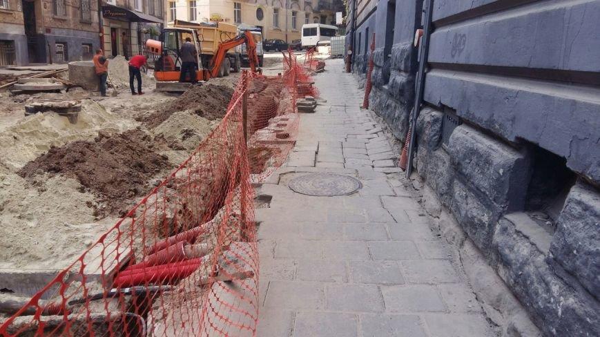 Як у Львові триває ремонт  вулиці Нечуя-Левицького (ФОТО), фото-5