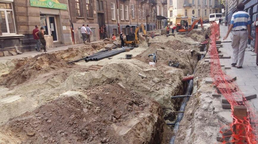 Як у Львові триває ремонт  вулиці Нечуя-Левицького (ФОТО), фото-2