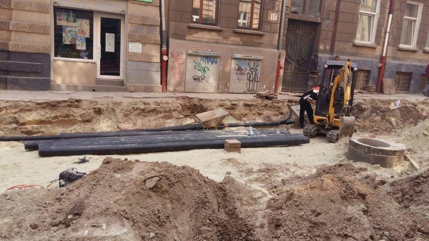 Як у Львові триває ремонт  вулиці Нечуя-Левицького (ФОТО), фото-3