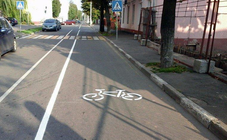 В Полоцке 17 сентября откроют первую городскую велодорожку. Фотофакт, фото-1