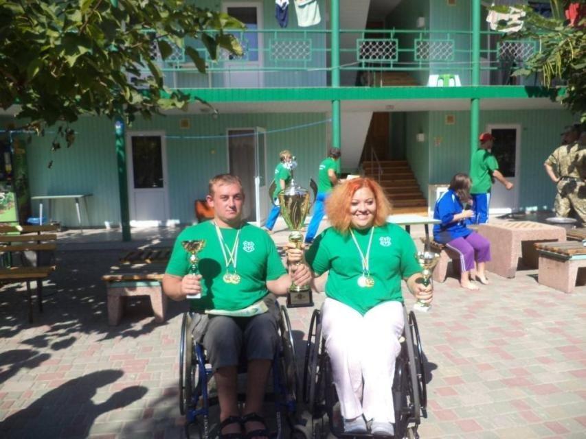 Кременчужане победили на ХI Открытой Всеукраинской спартакиаде по рекреационным видам спорта для людей с инвалидностью, фото-3