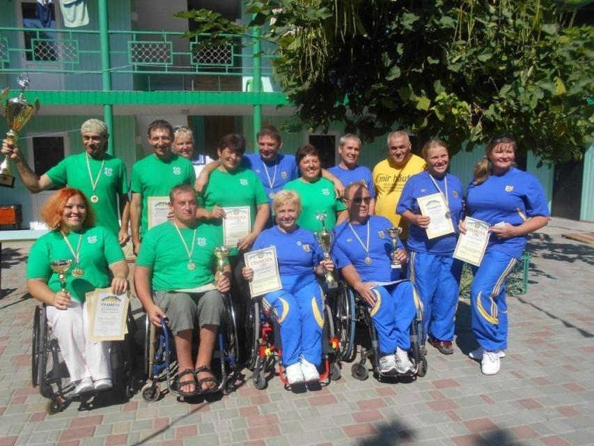 Кременчужане победили на ХI Открытой Всеукраинской спартакиаде по рекреационным видам спорта для людей с инвалидностью, фото-1