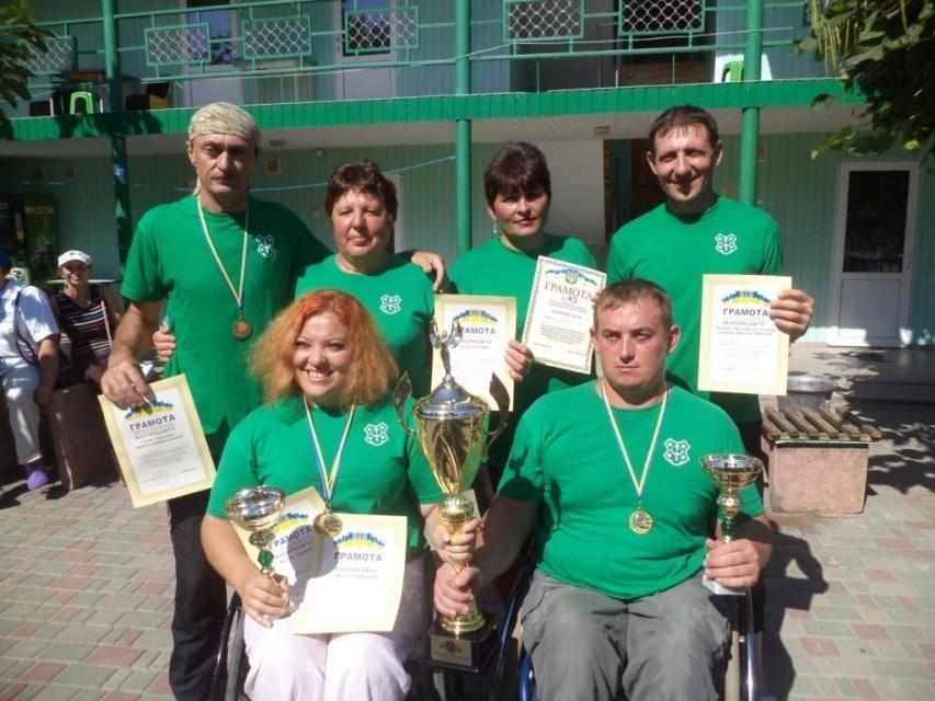 Кременчужане победили на ХI Открытой Всеукраинской спартакиаде по рекреационным видам спорта для людей с инвалидностью, фото-2