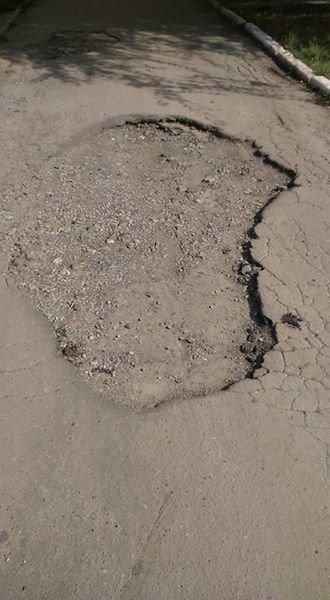 Краматорчане начинают самостоятельно ремонтировать дороги, фото-3