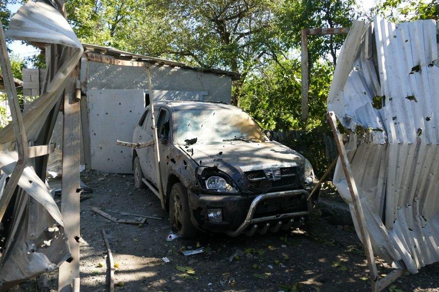 В результате обстрела Макеевки ранено шесть человек, пострадали 15 домов и школа (ФОТО), фото-4