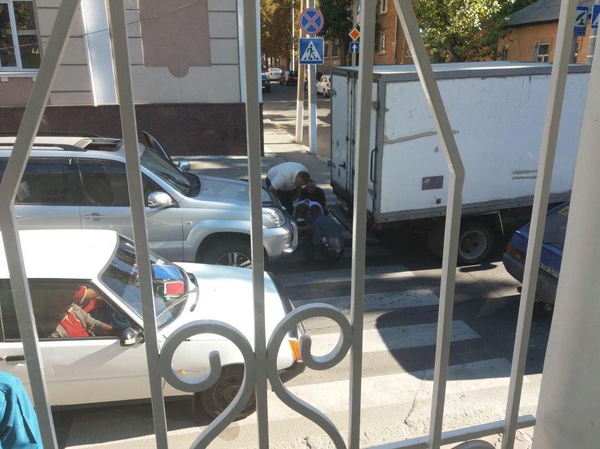 В Кропивницком столкнулись внедорожник и грузовик (ФОТО), фото-1