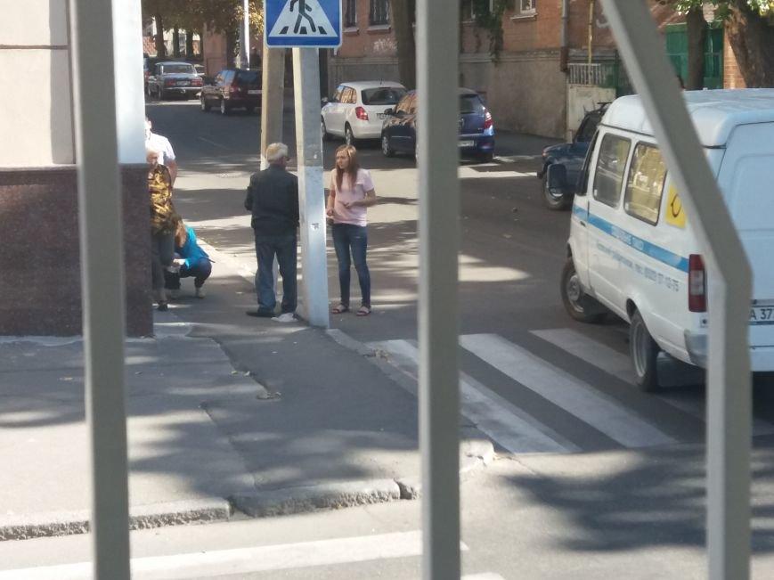 В Кропивницком ДТП: социальное такси наехало на пенсионерку (ФОТО), фото-1