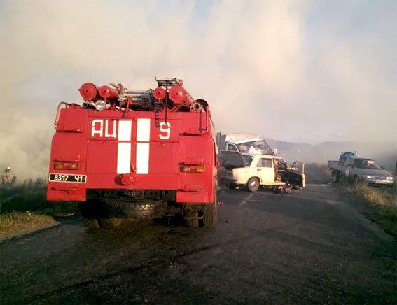 На Полтавщине в ДТП погибли две женщины, попав в облако дыма на дороге (ФОТО), фото-1