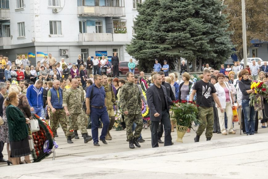 Каменчане простились с погибшим в АТО Максимом Самойловичем, фото-10