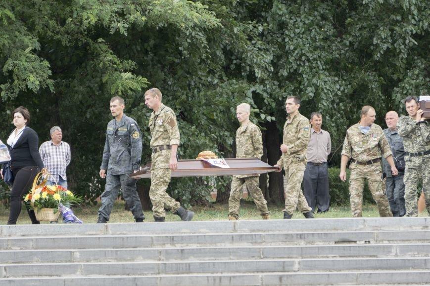 Каменчане простились с погибшим в АТО Максимом Самойловичем, фото-3
