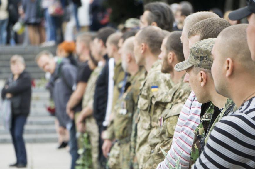 Каменчане простились с погибшим в АТО Максимом Самойловичем, фото-6
