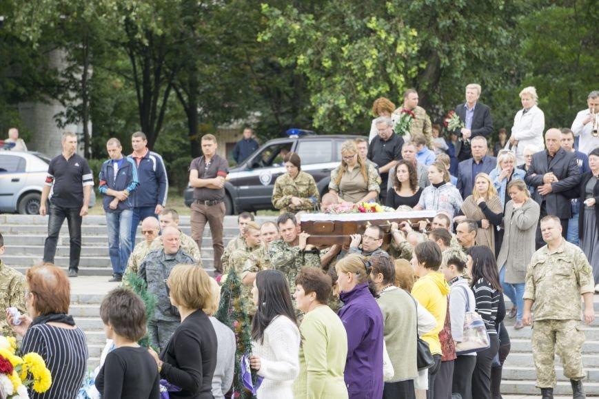 Каменчане простились с погибшим в АТО Максимом Самойловичем, фото-7