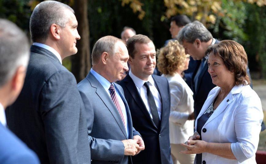 В Крыму Путин осмотрел Митридатскую лестницу (ФОТО), фото-4