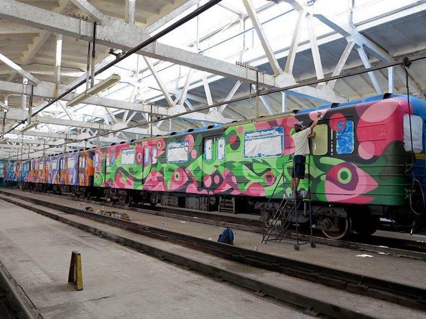 На следующей неделе в Киеве запустят еще один арт-поезд метро (ФОТО), фото-2