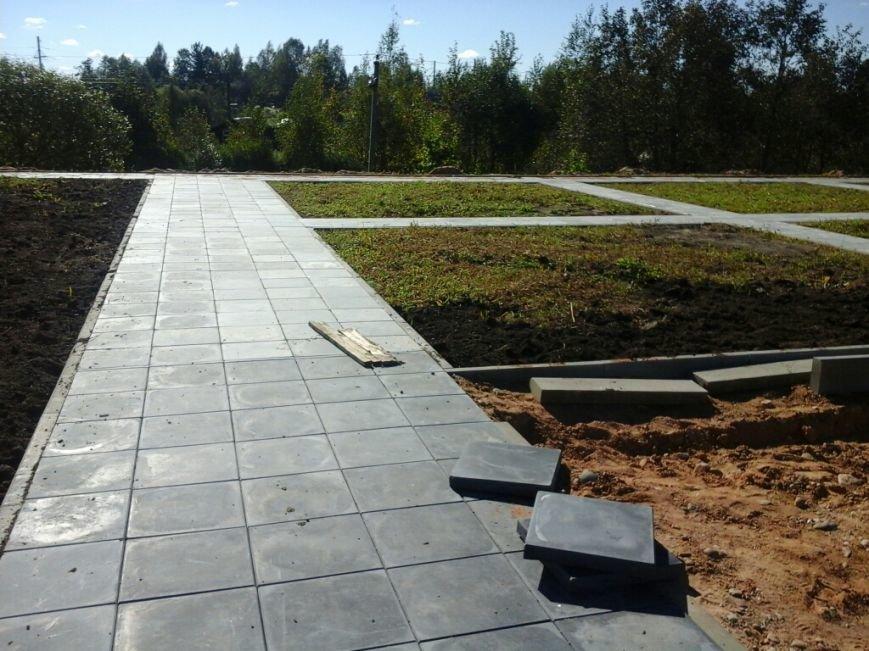 Фотофакт: как идет строительство мемориала «Урочище Пески» в Полоцке, фото-5