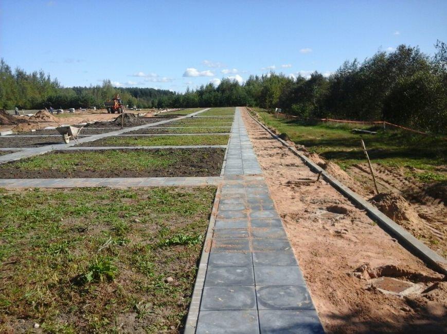 Фотофакт: как идет строительство мемориала «Урочище Пески» в Полоцке, фото-2