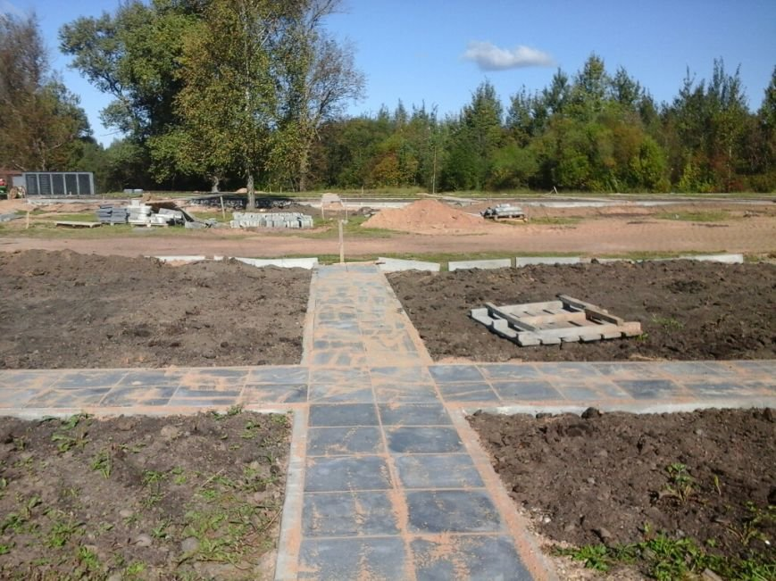 Фотофакт: как идет строительство мемориала «Урочище Пески» в Полоцке, фото-3