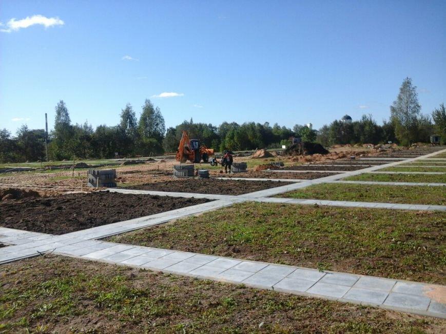 Фотофакт: как идет строительство мемориала «Урочище Пески» в Полоцке, фото-8