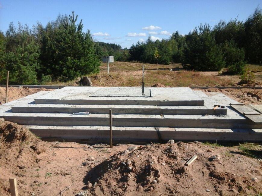Фотофакт: как идет строительство мемориала «Урочище Пески» в Полоцке, фото-6