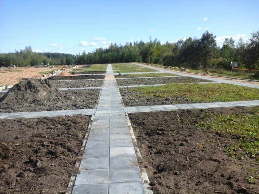 Фотофакт: как идет строительство мемориала «Урочище Пески» в Полоцке, фото-4