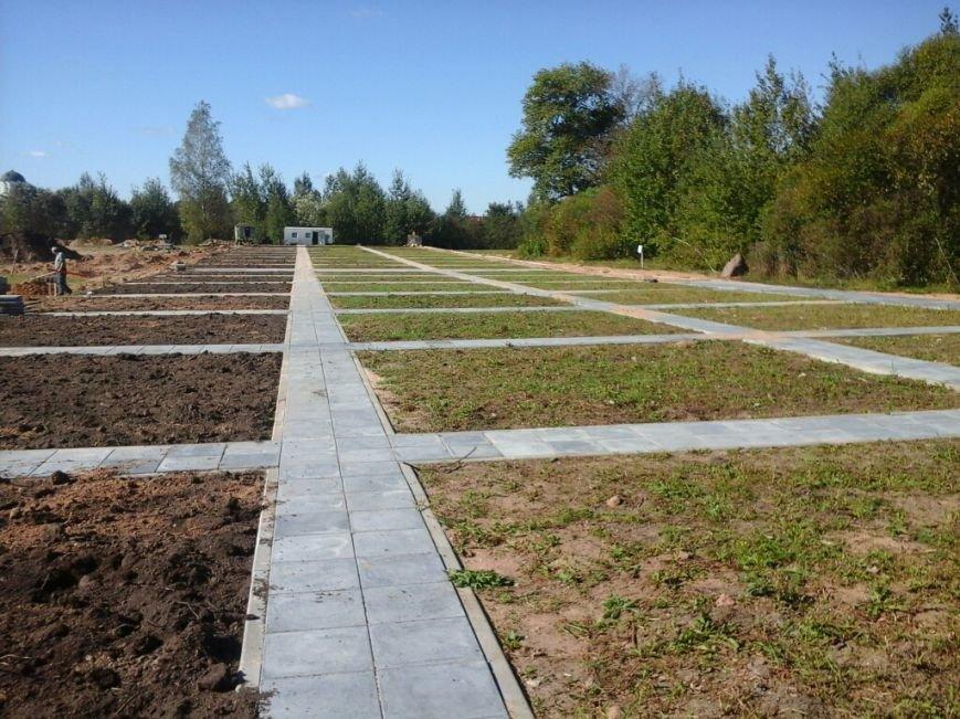 Фотофакт: как идет строительство мемориала «Урочище Пески» в Полоцке, фото-7