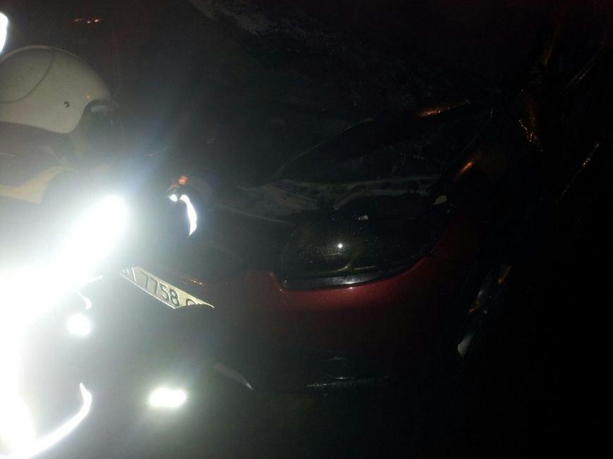 В Кременчуге сгорел Renault Sandero (ФОТО), фото-4