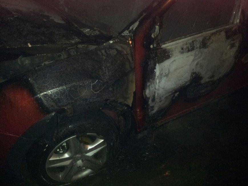 В Кременчуге сгорел Renault Sandero (ФОТО), фото-3