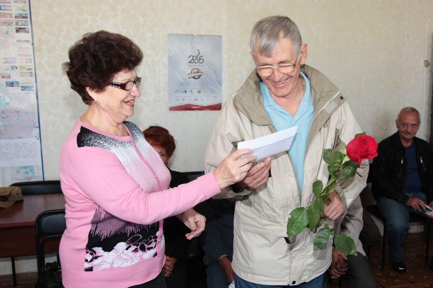 В Краматорске на ЭМСС поздравили ветеранов, фото-1