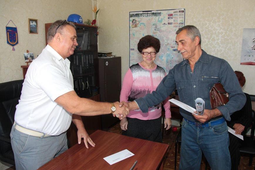 В Краматорске на ЭМСС поздравили ветеранов, фото-2