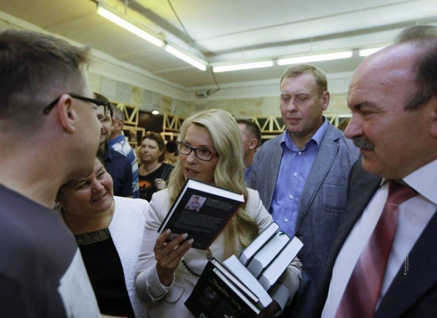 Тимошенко приїхала до Львова і побувала на Форумі видавців (ФОТО), фото-4