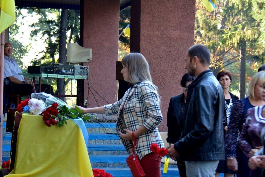 В криворожской школе почтили память погибшего в АТО Героя Сергея Ряженцева  (ФОТО), фото-22