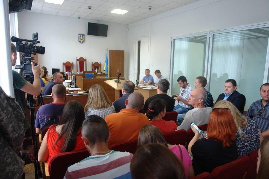Перше судове засідання між учасниками АТО і мером закінчилося лайкою. У справі оголосили перерву, фото-1