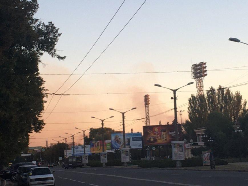 Криворожане в ужасе от цвета неба над Металлургическим районом  (ФОТО), фото-2