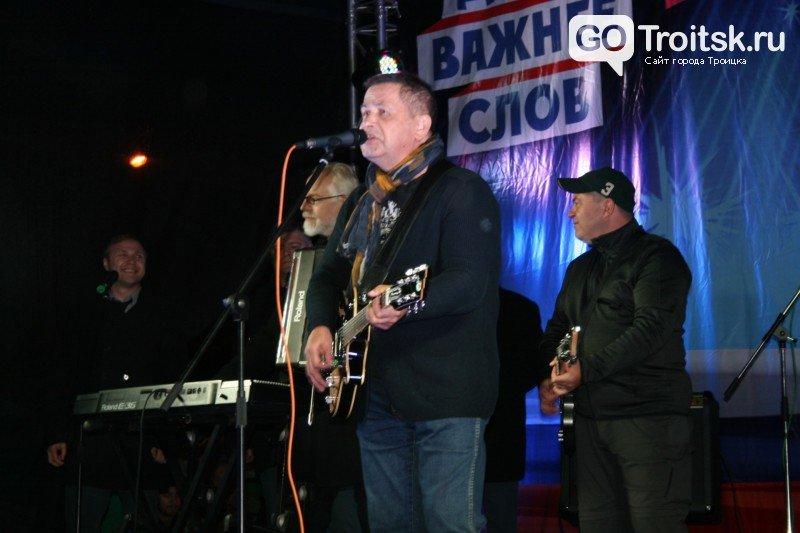 На концерт в Троицк Новой Москвы приехал Николай Расторгуев с группой «Любэ», фото-4