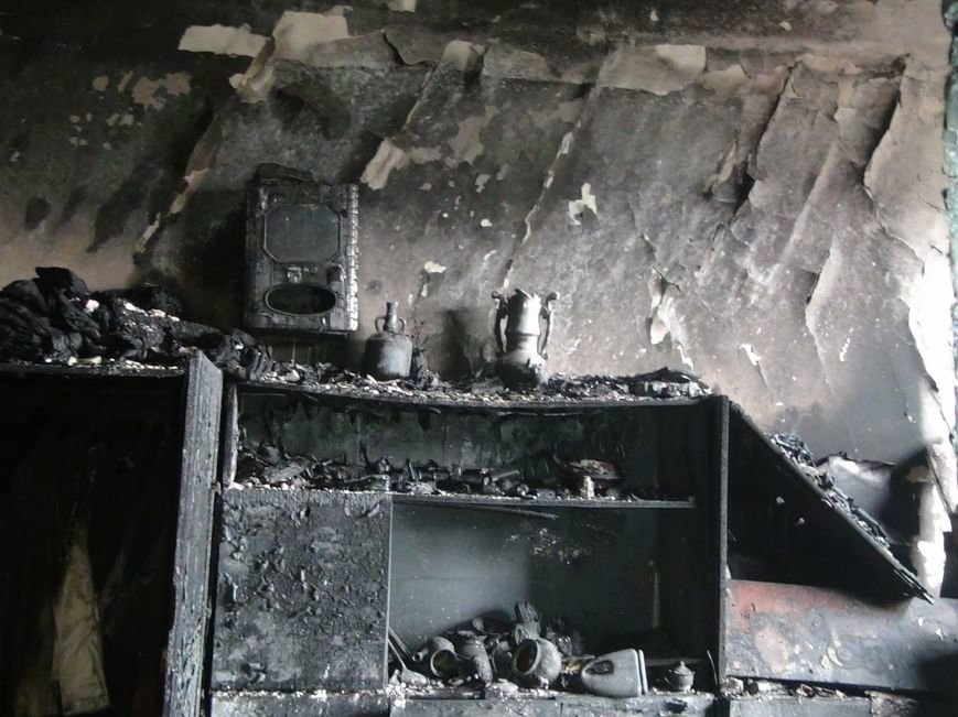 На Мазепи горіла квартира (ВІДЕО), фото-2