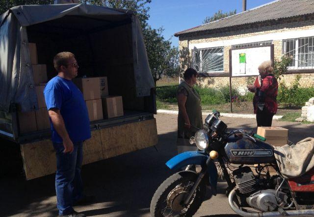 Каритас Краматорск расширяет географию помощи, фото-3