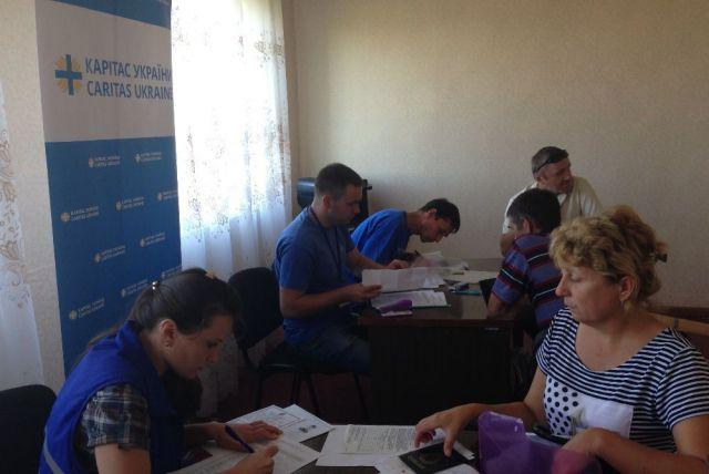 Каритас Краматорск расширяет географию помощи, фото-4