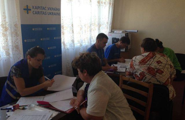 Каритас Краматорск расширяет географию помощи, фото-1