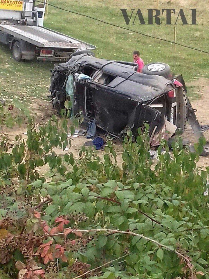 ДТП на Прикарпатті: 1 особа загинула, 2 госпіталізовані. Фото, фото-1