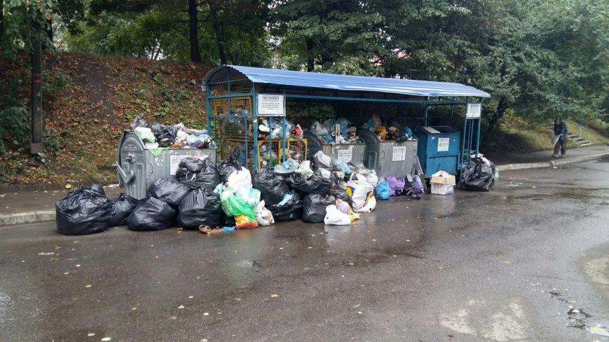 Сихів потопає у смітті (ФОТО), фото-5