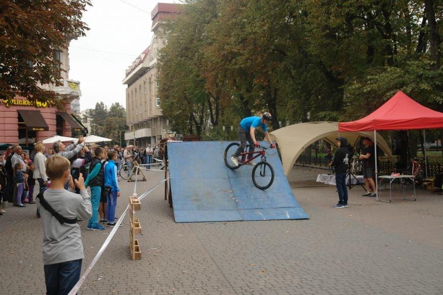 Франківчанам продемонстрували унікальне вело-шоу (ФОТОЗВІТ), фото-14