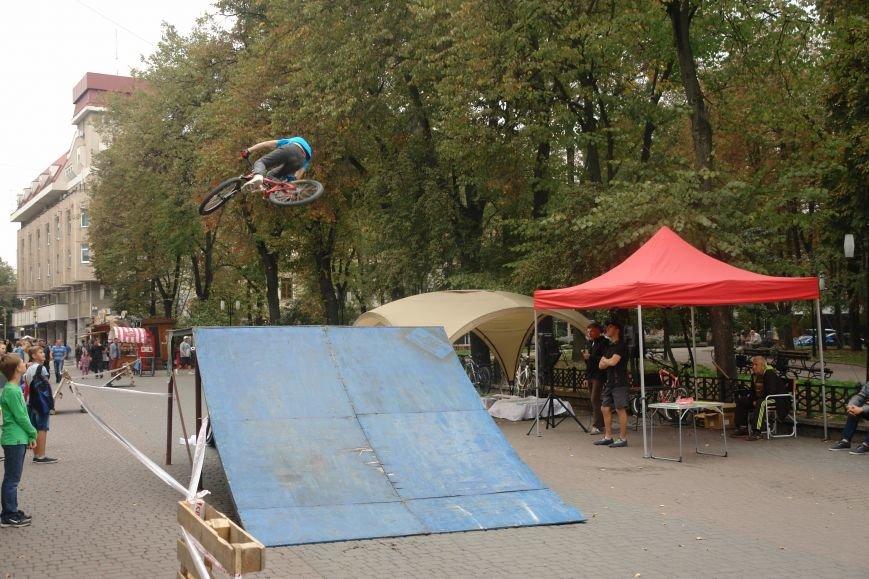 Франківчанам продемонстрували унікальне вело-шоу (ФОТОЗВІТ), фото-17