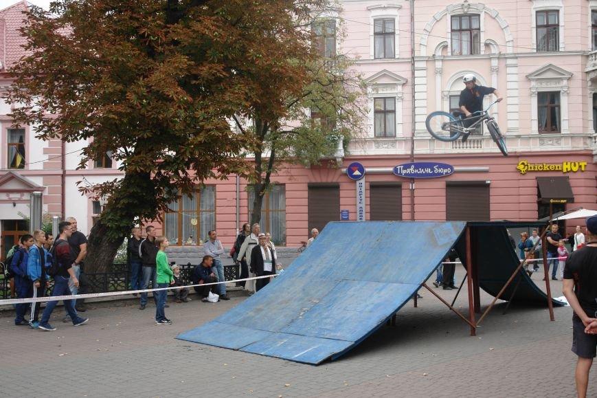Франківчанам продемонстрували унікальне вело-шоу (ФОТОЗВІТ), фото-5