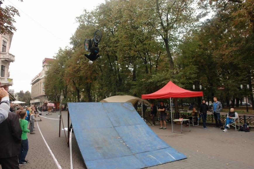 Франківчанам продемонстрували унікальне вело-шоу (ФОТОЗВІТ), фото-20