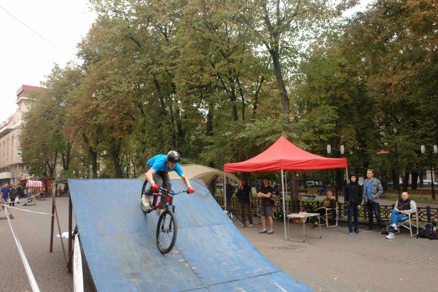Франківчанам продемонстрували унікальне вело-шоу (ФОТОЗВІТ), фото-22