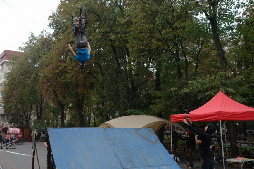 Франківчанам продемонстрували унікальне вело-шоу (ФОТОЗВІТ), фото-18